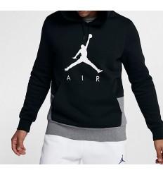 Sweat Jordan Jumpman GFX noir et gris