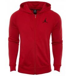 Veste zippée Jordan Flight Lite rouge