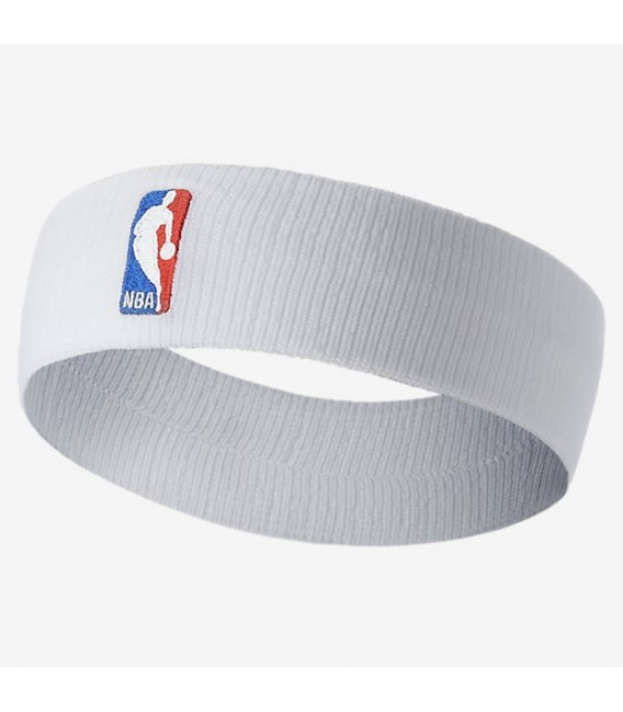 recherche de véritables nouveau design nouveau sélection Bandeau Nike NBA blanc