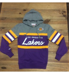 Sweat Capuche Head Coach Los Angeles Lakers Mitchell & Ness