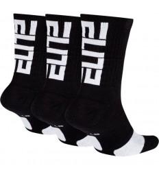 """Pack 3 paires Nike Elite """" Noire et Blanche """""""