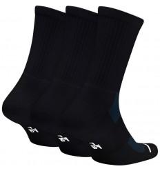 Pack 3 Paires de chaussettes Jordan noire