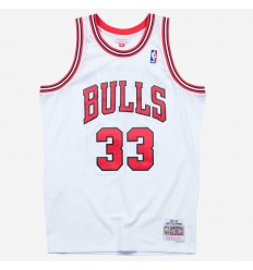 Jersey Swingman Scottie Pippen 97-98 blanc Mitchell and Ness