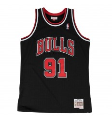 Jersey Swingman Dennis Rodman Alternate Mitchell and Ness 97-98