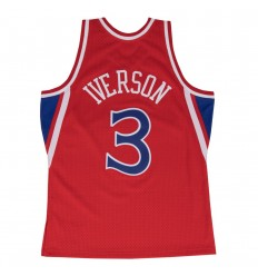 Jersey Swingman Allen Iverson 1996 1997 Mitchell and Ness