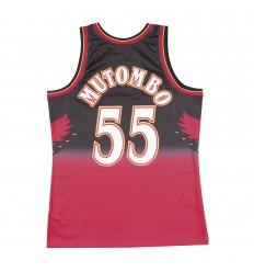 Jersey Swingman Dikembe Mutombo 1996 1997 Mitchell and Ness