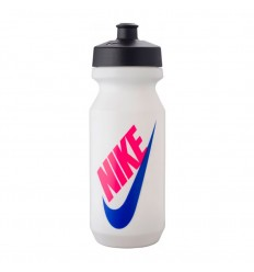 Gourde Nike Big Mouth Transparente et bleue 650 ML