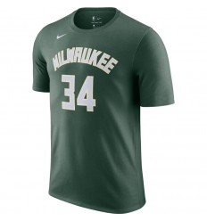 T-Shirt Nike Name And Number Antetokounmpo Icon