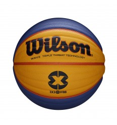 Ballon de match Wilson officiel FIBA 3X3 FFBB