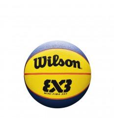 Ballon de basket Wilson FIBA 3x3 en caoutchouc