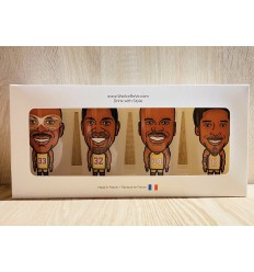 Los Angeles Lakers Showtime pack cup by Tom Miller