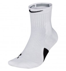 Chaussettes nike elite mid blanches