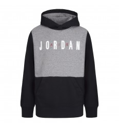 Sweat Jordan Jumpman Air Rouge et noir junior