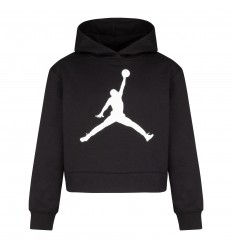 Sweat Jordan Jumpman Core noir fille