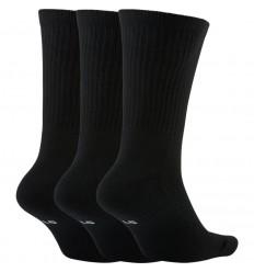 Pack de chaussettes nike everyday crew noir