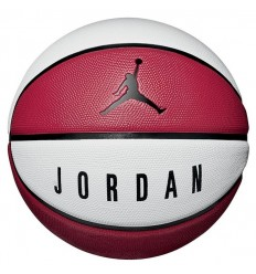 Ballon Jordan Playground 8P White Red Black Taille 6