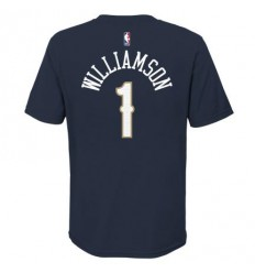 T-Shirt Name And Number Zion Williamson Icon