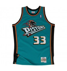 Jersey Swingman Grant Hill Teal Mitchell and Ness 98-99