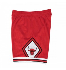 Short rouge Chicago Bulls 97-98 Mitchell and Ness