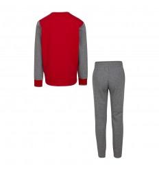 Survêtement Jordan Jumpman rouge et gris cadets
