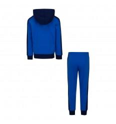 Survêtement Jordan Jumpman noir et bleu cadets