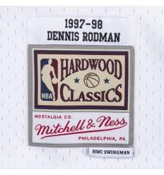 Jersey Swingman Dennis Rodman 1997 1998 Mitchell and Ness
