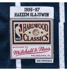Jersey Swingman Hakeem Olajuwon 1996 1997 Mitchell and Ness