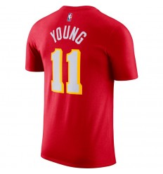 T-Shirt Nike Name and Number Trae Young Icon