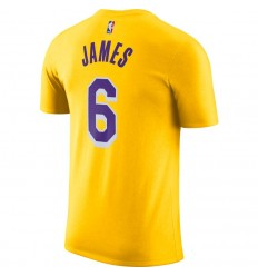 T-Shirt Nike Name and Number Lebron James Icon