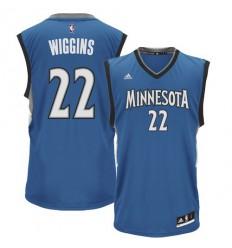 Maillot NBA Replica Andrew Wiggins bleu